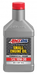 AMSOIL 10W-30 Synthetic Small Engine Oil Фото 1