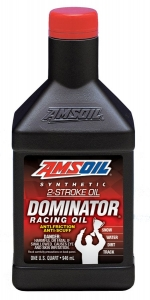 AMSOIL Dominator Synthetic 2-stroke Racing Oil Фото 1