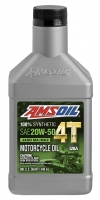 AMSOIL Performance 20W-50 Motorcycle Oil
