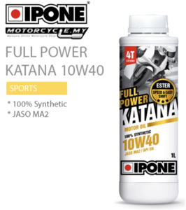 Ipone full power katana 10w40 Фото 1