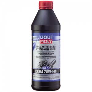Liqui Moly Vollsynthetisches Hypoid-Getriebeoil (GL-5) LS 75W-140 Фото 1