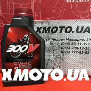Motul 300v 4t factory line off-road 5w40 Фото 1