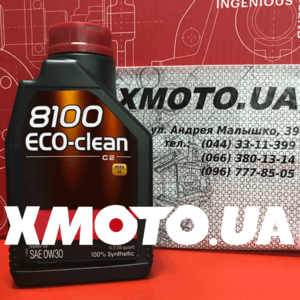 Motul 8100 Eco-clean 0w30 Фото 1