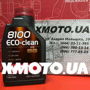 Motul 8100 eco-clean 5w-30 Фото 1