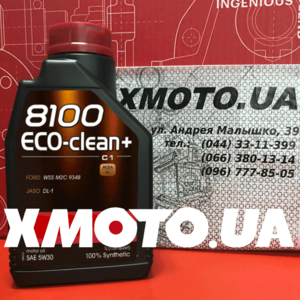 Motul 8100 eco-clean + 5w-30 Фото 1