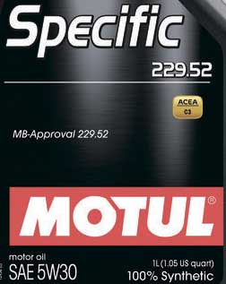 MB 229.52 Motul Specific 229.52 5w30